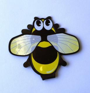 Biene - Lesezeichen-Clip