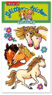 Mein Ponyhof Glitter Sticker Nr. 1
