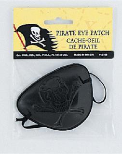 1 Stück Plastik Augenklappe