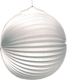 Lampion in Weiß