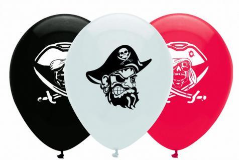 6 Piraten Ballons