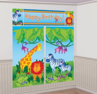 Wand Poster Safari Dschungel