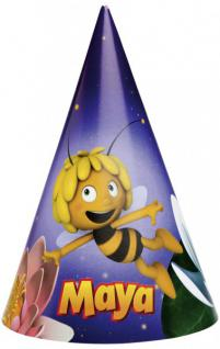 6 Biene Maja Party Hütchen