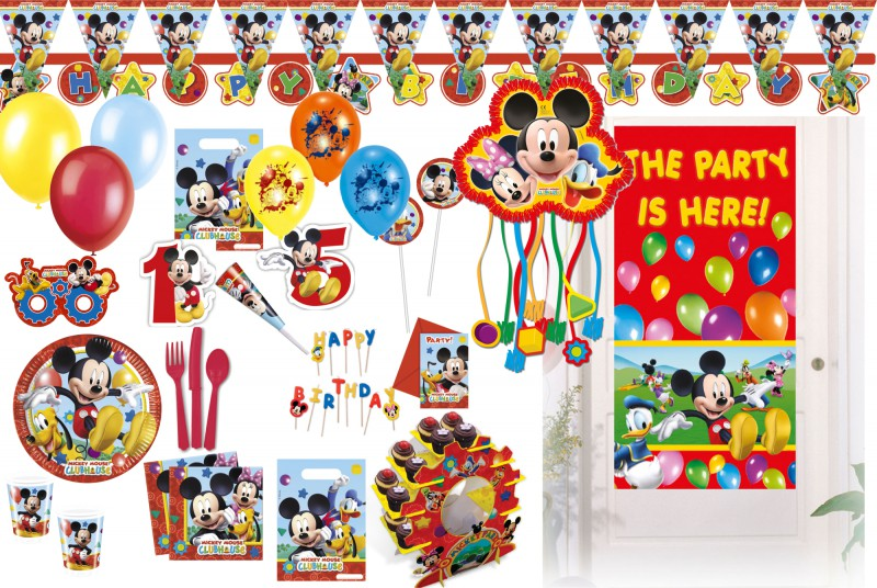 pinata micky maus clubhaus kaufen bei kids party world. Black Bedroom Furniture Sets. Home Design Ideas