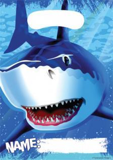 8 Haifisch Party Tüten