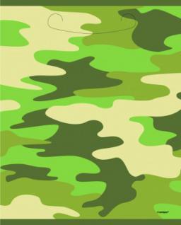 8 Camouflage Partytüten
