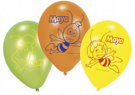 6 Biene Maja Luftballons