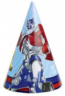 8 Transformers Party Hütchen