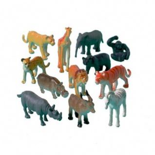 12 kleine Dschungel Tiere
