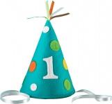 Erster Geburtstags Hütchen aus Filz in blau