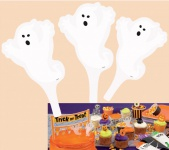 12 Halloween Muffin Stecker Geister
