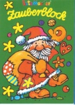 Zauberblock Weihnachtsmann mit Sack