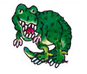 Mini Tattoo T-Rex