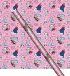 Frozen die Eiskönigin Geschenkpapier Rosa
