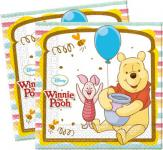 20 Winnie Puuh Sweet Tweets Party Servietten