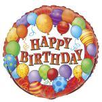 Happy Birthday Folien Ballon