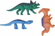 20 kleine Plastik Dinosaurier