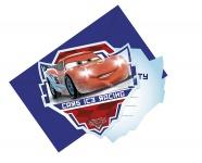 6 Einladungskarten Cars Ice Racer