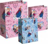 Frozen die Eiskönigin Geschenktüten Set Rosa Blau - Anna, Elsa, Olaf - Geschenk Verpackung, Geschenktasche - Weihnachten