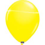 8 Luftballons Neon Gelb