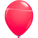 8 Luftballons Neon Pink