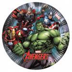 8 kleine Papp Teller Avengers Assemble Power