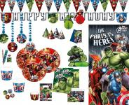 Avengers Assemble Multiheroes Party Deko Set