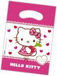 6 Hello Kitty Hearts Party Tütchen