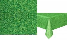 Tischdecke grünes Gras Stadionrasen