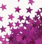 Konfetti Sterne Pink