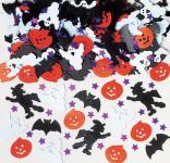 Halloween Konfetti Hexe Geister Fledermäuse Kürbis Mix