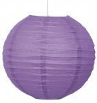 Lampion aus Seidenpapier Lila Pflaume