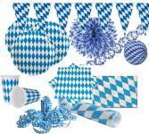XXL 48 Teile Bavaria Party Deko Set Oktoberfest für 10 Personen