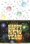 Tischdecke Happy New Year