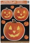 Halloween Kürbis Fensterbild