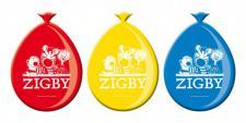 8 Zigby und Freunde Dschungel Safari Ballons