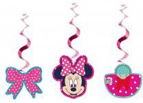 3 hängende Girlanden Minnie Dots