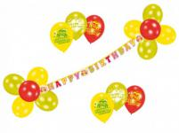 Happy Birthday Party Deko Set