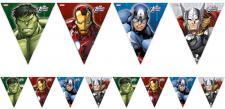 Avengers Power Papier Wimpel Girlande