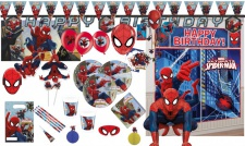 Spiderman Web Warriors Party Deko Auswahl Set