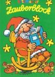Zauberblock Weihnachtsmann im Schaukelstuhl