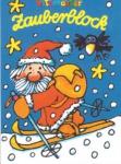 Zauberblock Weihnachtsmann mit Ski