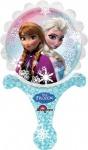 Eiskönigin Mini Folienballon luftgefüllt
