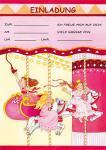 8 Einladungen Prinzessin Party