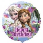 Eiskönigin Geburtstags Folienballon Elsa + Anna