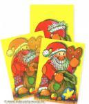 Wackelbild Postkarte Nikolaus