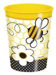 1 großer Bienchen Plastik Becher