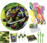 Ninja Turtles Party Set - 125 Teile