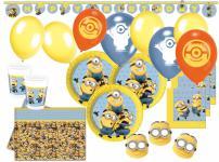 88 Teile Minions Party Deko Set für 16 Kinder