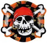 6 Motivteller Jolly Roger